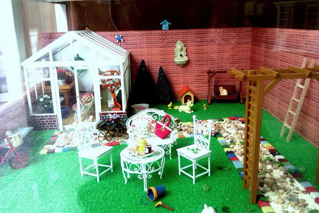 jardin en miniatura